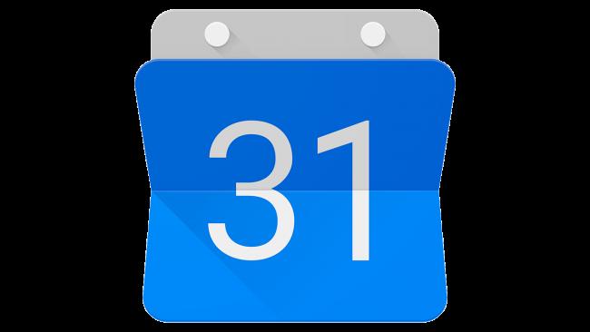 Google Calendar Logo 2015-2020