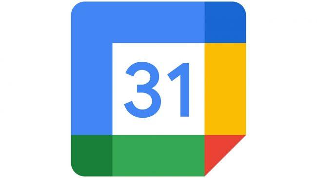 Google Calendar Logo 2020-oggi