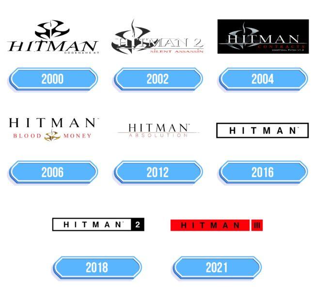 Hitman Logo Storia