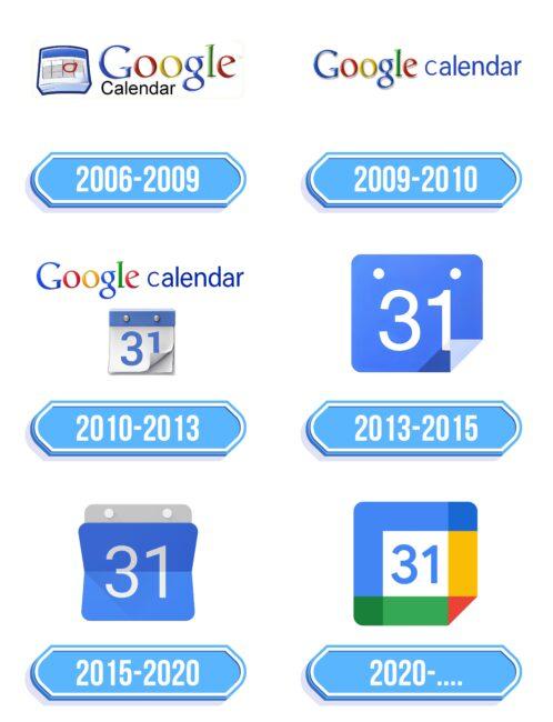 Google Calendar Logo Storia