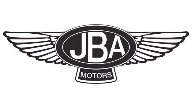 JBA Motors Logo with Wings