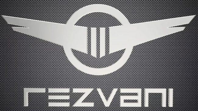 Rezvani Logo with Wings