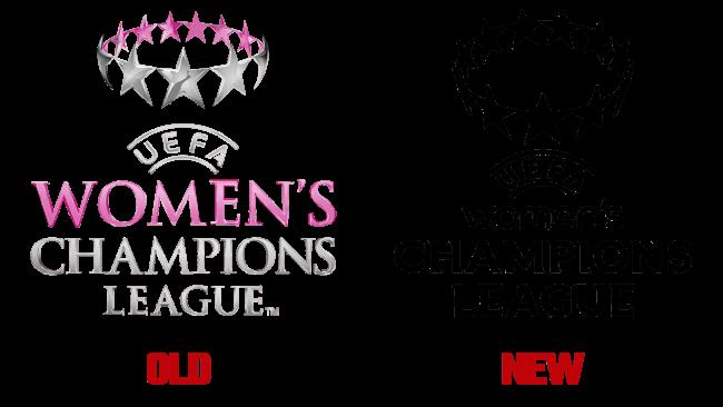 UEFA Women's Champions League Vecchio e Nuovo Logo (storia)