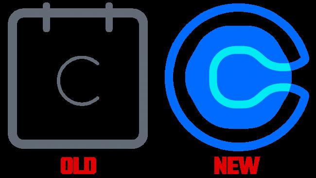 Calendly Vecchio e Nuovo Logo (storia)