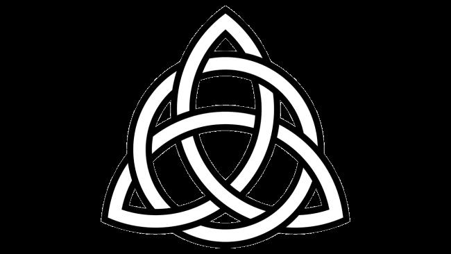 Celtic Triquetra symbol