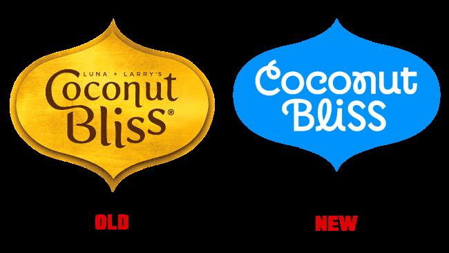 Coconut Bliss Vecchio e Nuovo Logo (storia)