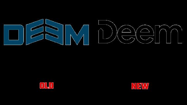 Deem Vecchio e Nuovo Logo (storia)