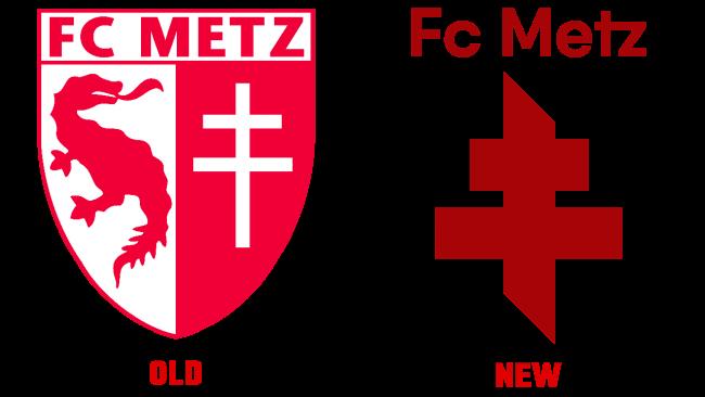 FC Metz Vecchio e Nuovo Logo (storia)