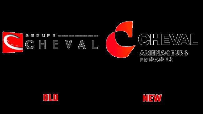 Groupe Cheval Vecchio e Nuovo Logo (storia)