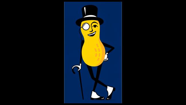 Logo della Planters Mr. Peanut