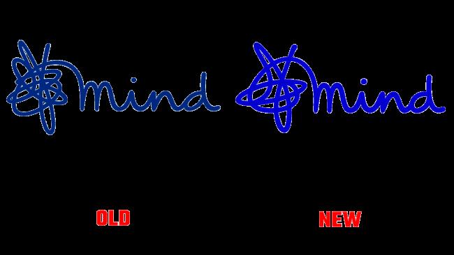 Mind Vecchio e Nuovo Logo (storia)