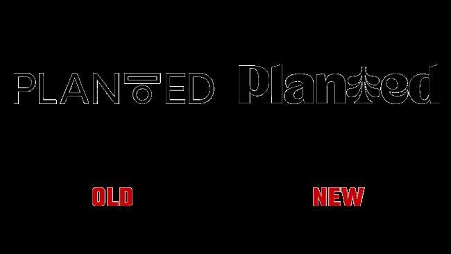 Planted Vecchio e Nuovo Logo (Storia)