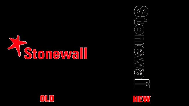 Stonewall vecchio e nuovo logo (storia)
