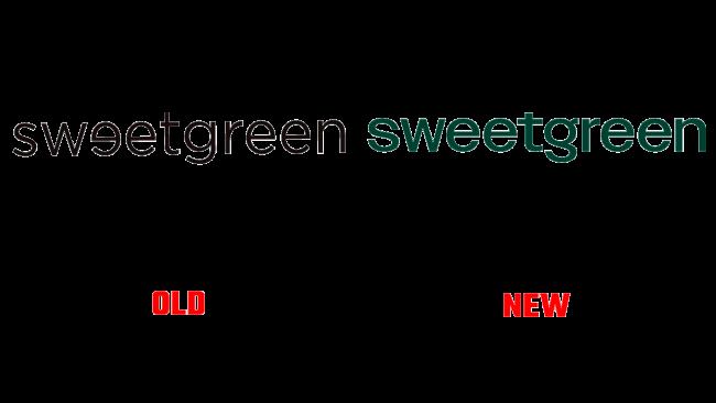 Sweetgreen Vecchio e Nuovo Logo (storia)