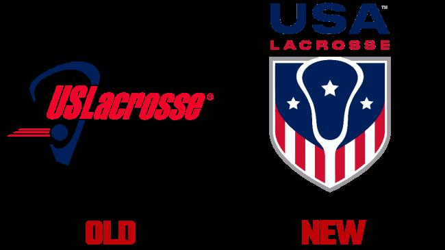 USA Lacrosse Vecchio e Nuovo Logo (storia)