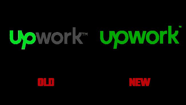 Upwork Nuovo e vecchio logo (storia)