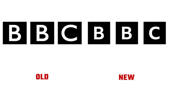 BBC Vecchio e Nuovo Logo (storia)