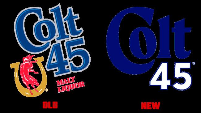 Colt 45 vecchio e nuovo logo (storia)