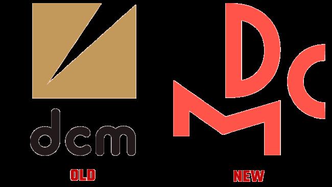 DCM Vecchio e Nuovo Logo (storia)