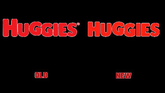Huggies Vecchio e Nuovo Logo (storia)