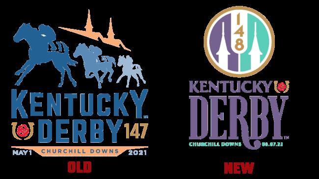 Kentucky Derby Vecchio e Nuovo Logo (storia)