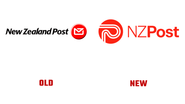 NZ Post Vecchio e Nuovo Logo (storia)