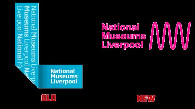 National Museums Liverpool Vecchio e Nuovo Logo (storia)