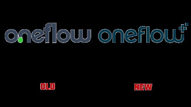 OneFlow Vecchio e Nuovo Logo (storia)