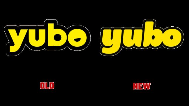Yubo vecchio e nuovo logo (storia)