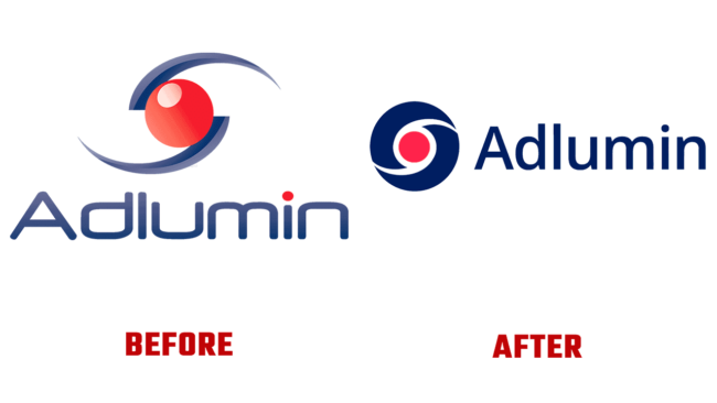 Adlumin Prima e Dopo Logo (storia)