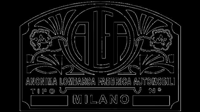 Alfa Milano Logo 1870-1910