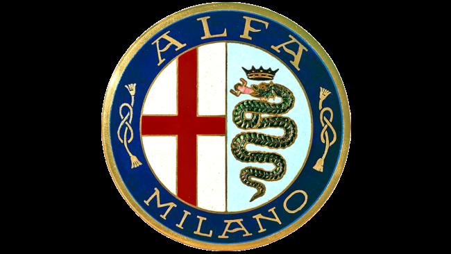 Alfa Milano Logo 1910-1915