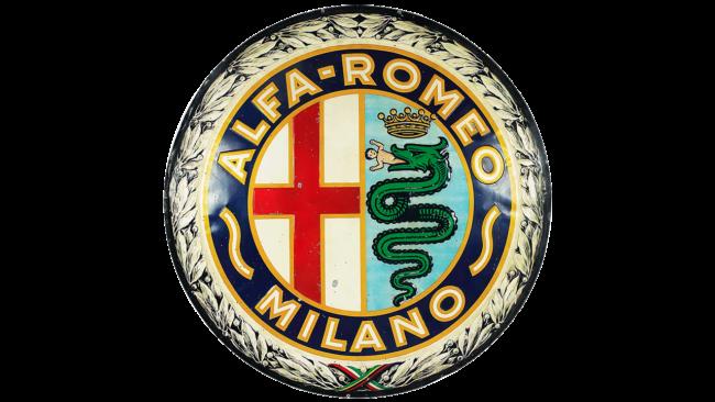 Alfa Romeo Logo 1925-1933
