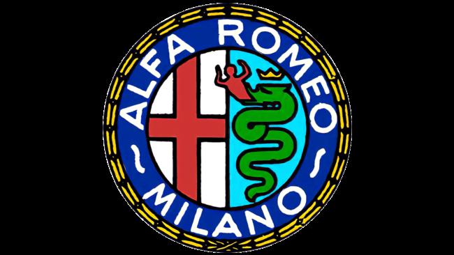 Alfa Romeo Logo 1948-1950