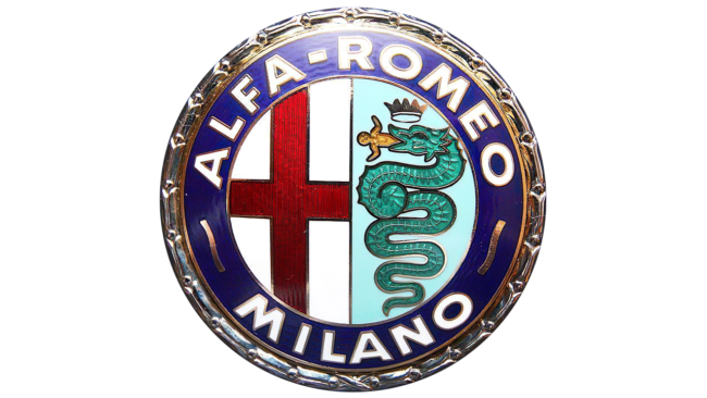 Alfa Romeo Logo 1950-1971