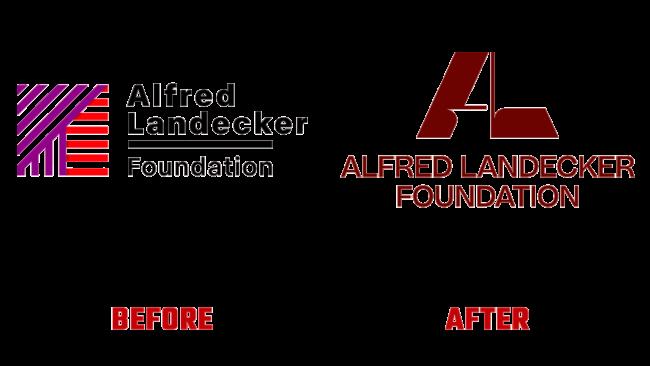 Alfred Landecker Foundation Prima e Dopo Logo (storia)