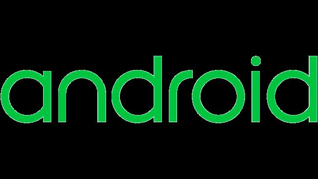 Android wordmark Logo 2014-2019