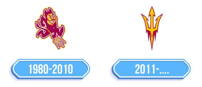 Arizona State Sun Devils Logo Storia