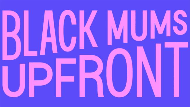 Black Mums Upfront Nuovo Logo