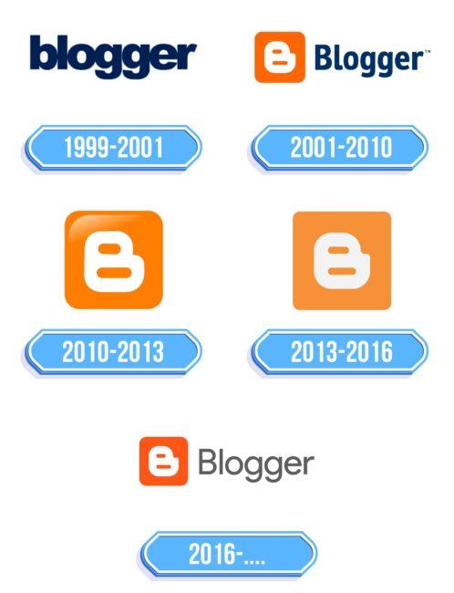 Blogger Logo Storia