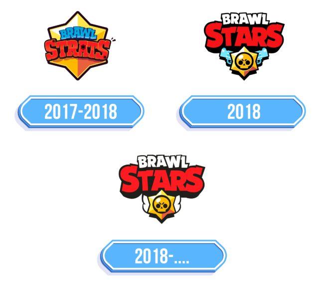 Brawl Stars Logo Storia
