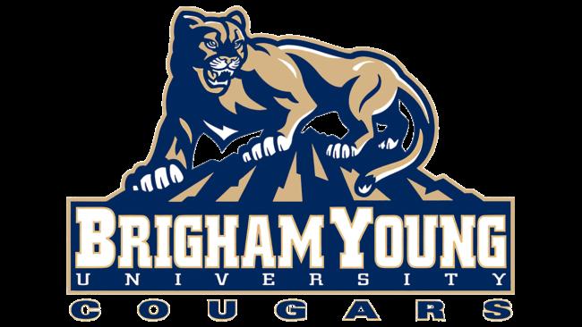 Brigham Young Cougars Logo 1999-2004