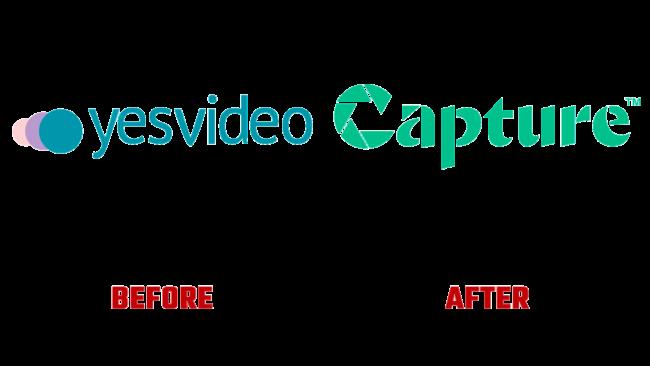 Capture Prima e Dopo Logo (storia)