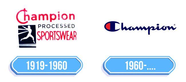 Champion Logo Storia