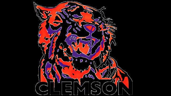 Clemson Tigers Logo 1970-1976