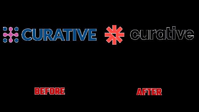 Curative Prima e Dopo Logo (storia)