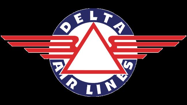 Delta Air Lines (First era) Logo 1934-1951