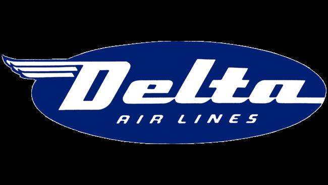 Delta Air Lines (First era) Logo 1945-1953