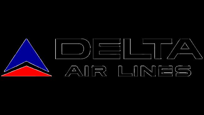 Delta Air Lines (Second era) Logo 1966-1976