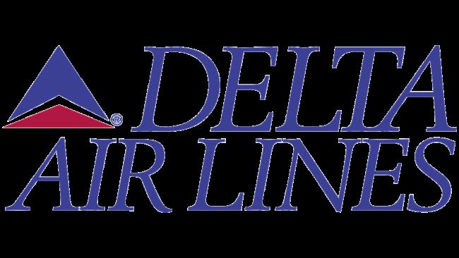 Delta Air Lines (Second era) Logo 1993-1995